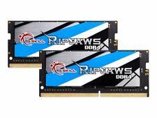 G.Skill Ripjaws DDR4 32 GB: 2 x 16 GB SO-DIMM 260-pin 2666 MHz F4-2666C18D-32GRS