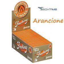 CARTINE PER ROLLARE SMOKING ARANCIONE 50 LIBRETTI DA 60 FOGLIETTI L'UNO