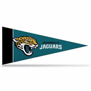 "Jacksonville Jaguars NFL Mini Pennant  9""x4"",New, Felt, Made in USA"