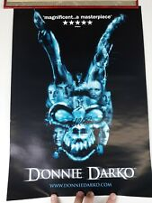 Donnie Darko Movie Poster signed by director Richard Kelly 11.5 x 16 inches