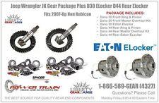 Jeep Wrangler JK 4.56 Gear Package Eaton ELockers D30 30 Spline  D44  Non Rub