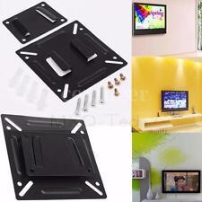 24'' Fixed lCD LED Plasma Monitor TV Wall Mount Bracket Display Screen Computer