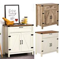 HOMCOM Industrial Storage Cabinet Kitchen Sideboard w/ Drawer for Dining Room