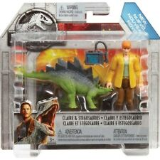 Jurassic World Fallen Kingdom Action Figure Claire e Stegosaurus Mattel