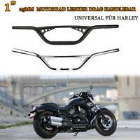 Motorrad Lenker Drag Handlebar 1 Zoll 25mm für Harley Sportster XL883  Bobber