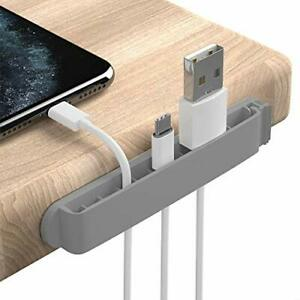 Cable Clips, 3 Pack Cord Organizer Charger Cable Management for Gray