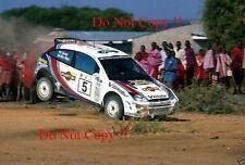 Colin McRae. FORD FOCUS RS WRC 02 Winner Safari Rally 2002 Fotografia