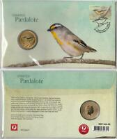2013 STRIATED PARDALOTE PNC $1 COIN TUVALU - MINT & PERFECT in PROTECTIVE COVER
