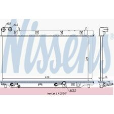 Kühler, Motorkühlung NISSENS 68098