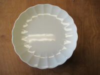 """Mikasa Bone China CAMEO WHITE A7000 Dinner Plate 10 1/2"""" Scalloped  3 available"""