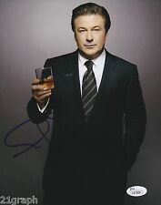 Alec Baldwin Signed 8x10 Photo w/ Jsa Coa #L41809 + Proof 30 Rock