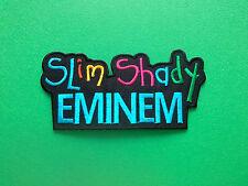 HEAVY METAL PUNK ROCK MUSIC SEW ON / IRON ON PATCH:- EMINEM (a) SLIM SHADY