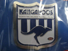 AFL NTH MELBOURNE KANGAROOS LAPEL PIN - NEW