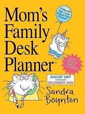 Mom's Family Desk Planner Calendar 2018, Engagement & Desk Calendar