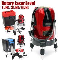 360º Laser 1/5/8 Linea Livella 4V1H Autolivellante Auto Gradienter Misura