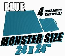 BLUE MONSTER-SIZE 24x24 Soundproofing Studio Foam Acoustic  Wedge Panel