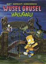 BART SIMPSONS HORROR SHOW # 1 - WUSEL-GRUSEL HALLIGALLI - DINO VERLAG 2000 - TOP