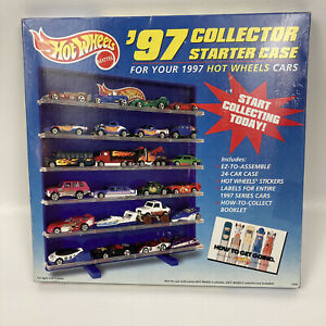 Hot Wheels '97 Collector Starter Case for 1997 Hot Wheels Cars
