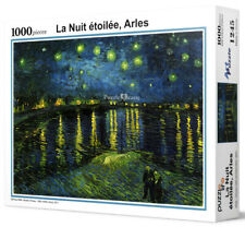 """Jigsaw Puzzles 1000 Pieces """"Starry Night over the Rhone"""" / Vincent van Gogh"""