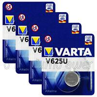 4 x Varta V625U batteries Alkaline 1.5V LR9 4626 PX625A 625A Button Cell Key Fob