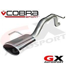 VC32 Cobra Sport Vauxhall Corsa D 1.2 1.4 Petrol 07-13 Rear Exhaust Venom Range