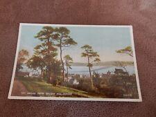 WW2 postcard - Tay Bridge from Balgay Hill - Dundee - Scotland