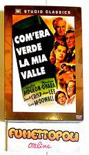 COM'ERA VERDE LA MIA VALLE DVD 1^ Ediz. 20TH Century Fox Sigillata NUOVA!