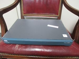 CISCO 2611XM Router with WIC2T, NM-NAM 20GB HDD Module,Rack ears & Power Cable