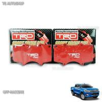Set TRD Sports Front Brake Pads Genuine For Toyota Hilux Revo Sr5 2015 2018 Trim