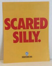 Daffy Duck's Quackbusters Video Movie Store Advertising Brochure Scared Silly
