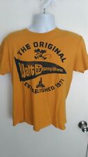 Mickey Mouse Disney shirt by Hanes size Medium yellow, Nwot