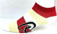Arizona Diamondbacks Ladies Pro Stripe Ankle Socks Red Gold White One Size