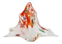 Mid Century Italian Murano Millefiori Glass Vessel