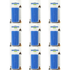 9 x CMS Medical elasticizzata Autoadesivo BENDA COESIVA Roll Wrap 10cm Blu