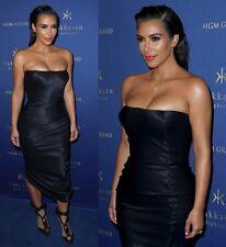14K Solid Gold Cross Religious Pendant Kim Kardashian Style w Manmade Diamonds