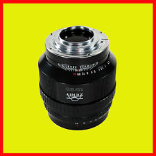 New Design Helios - 40-2-n 85 mm f/1.5 mc lens Nikon bayonet mounts. Brand New