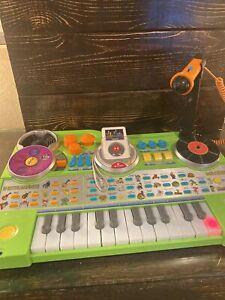 VTech KidiJamz Recording Studio DJ Music Center Keyboard Microphone MP3 Recorder