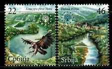 SERBIA 2009 Nature Flora Fauna River Birds Environment  MNH Set Unused stamps