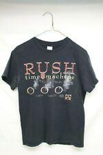 RUSH (THE BAND) 2010 TIME MACHINE T-SHIRT - Woman's Size small - Black Women's