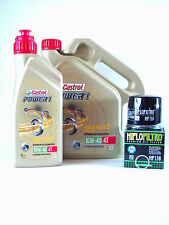 Castrol Power 1 10w40 öl + Ölfilter Suzuki VS1400 Intruder VX51L BJ 1986-2003