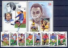 Fußball WM 1994, Soccer - Gambia - 1954-1961, Bl.237-238 ** MNH