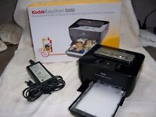 Kodak G610 Thermal Photo Printer Very Good Condition