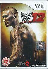 WWE 12=NINTENDO Wii=WRESTLING=WWE12=W 12=12=WRESTLEMANIA=4 X PLAYER=U K