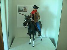 """John Wayne True Grit Rooster Cogburn movie Old West 12"""" figure"""