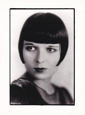 Louise Brooks circa 1920 Original postérieur circa 2000
