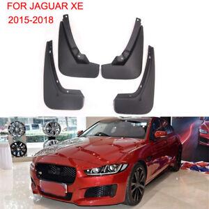 BUSUANZI Mud Flaps Fit For Jaguar XE R Sport 2015-2020 2016 2017 2018 2019,Mud Splash Guard Front and Rear 4pc Set