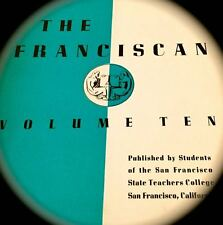 1935 SAN FRANCISCO STATE COLLEGE/UNIVERSITY yearbook FRANCISCAN ~vol 10