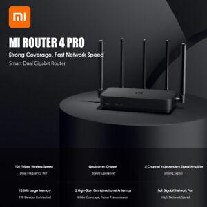 Xiaomi Mi Router 4 Pro Gigabit 2,4 GHz 5 GHz 1317 Mbit / s Repeater 128 MB APP
