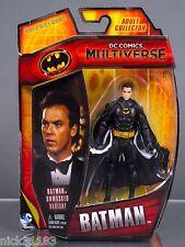 "DC COMICS MULTIVERSE BATMAN 1989 KEATON 89 3.75"" FIGURE UNMASKED VARIANT CHASE"