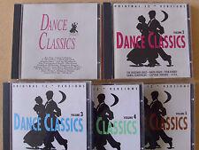 """Dance Classics 1-5- Original 12"""" Versions- GIG Records 89-93- 5 CDs- Megarar"""